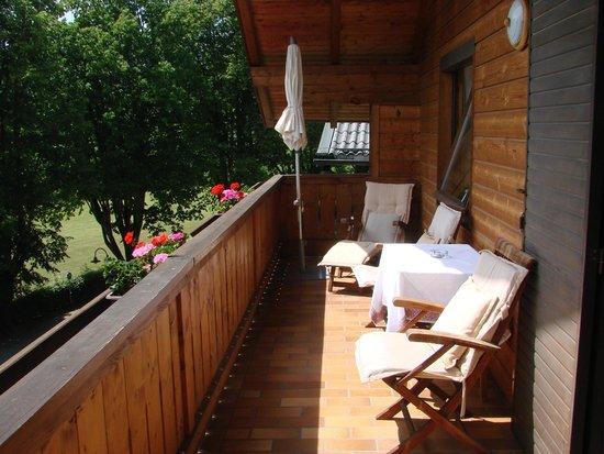 Hotel Furian am Wolfgangsee: Balcony