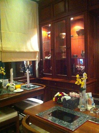 Chanthapanya Hotel : Dining room