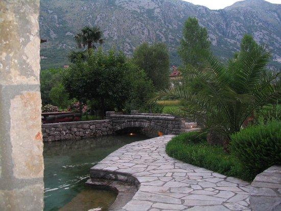 Konoba Catovica Mlini: green surroundings