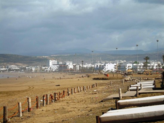 Sofitel Agadir Thalassa Sea & Spa : Strand vor dem Hotel