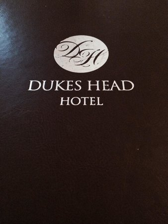 The Dukes Head Hotel: Excellent Food
