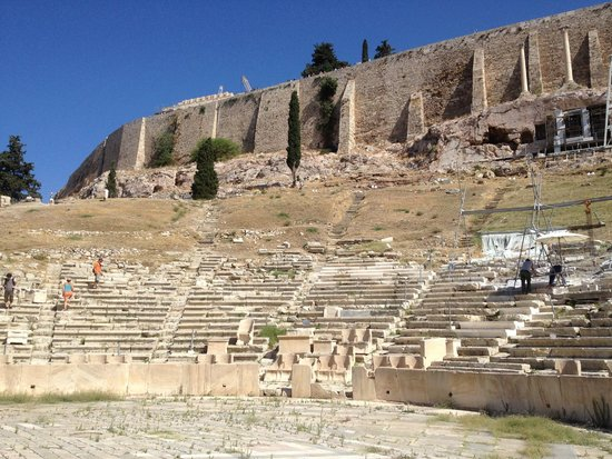 Acropolis: Outer walls and Odeon