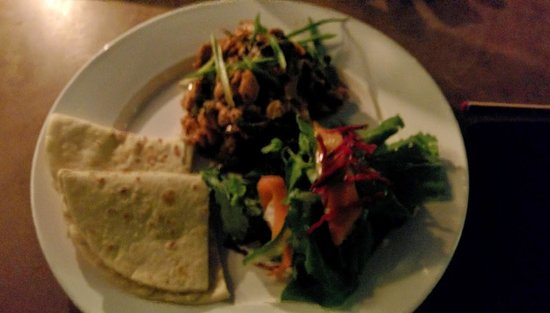 Black olives cafe and bar: Chicken Sandako Kathmandu