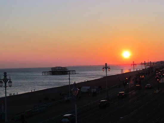 The Brighton Beach Hotel: Vista desde la habitacion