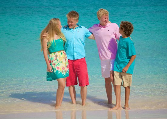 The Venetian on Grace Bay: Photo from our photo shoot on the beach out the back of the resort