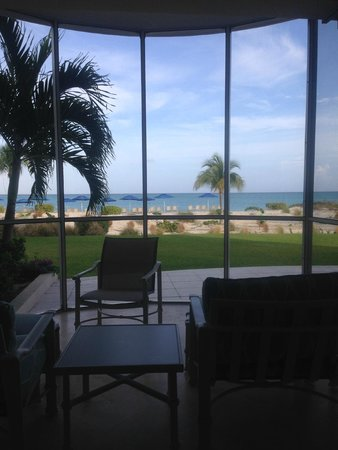 The Venetian on Grace Bay: This was the view from out the master suite.