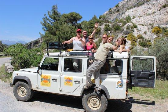 Born To Be Wild Eco-Tours: une bien belle équipe...