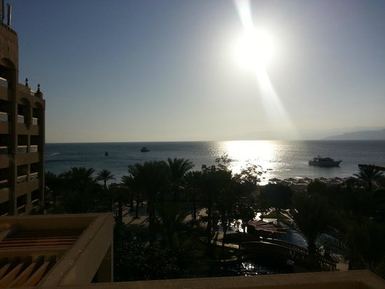 InterContinental Aqaba Resort: view from the balcony