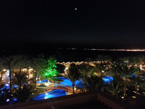 InterContinental Aqaba Resort: at night