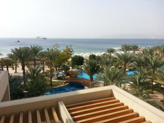 InterContinental Aqaba Resort : view from our balcony