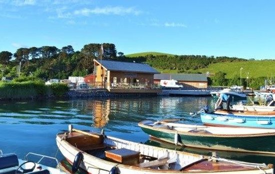 The Crab Shed: View from the water
