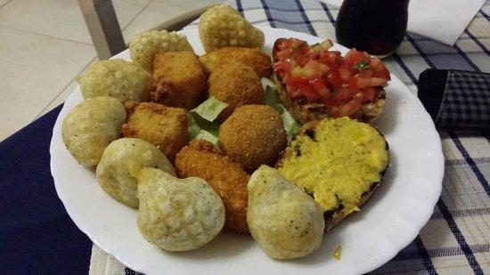 Regine Trastevere: i fritti