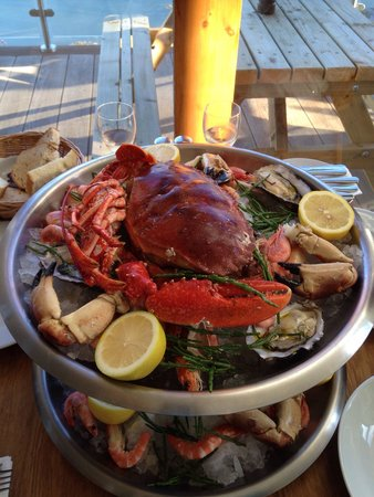 The Crab Shed: Amazing Fruits de Mer