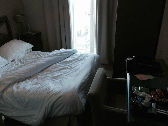Best Western Hotel De La Plage : Chambre minuscule