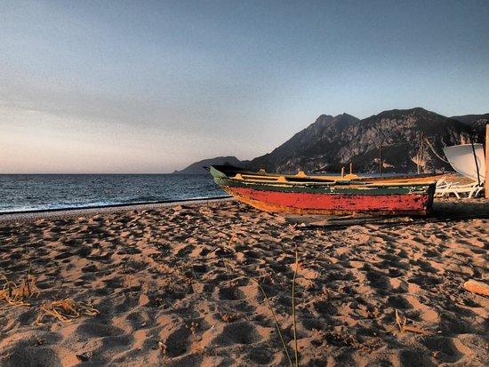 Caretta Caretta Pension: CIRALI BEACH