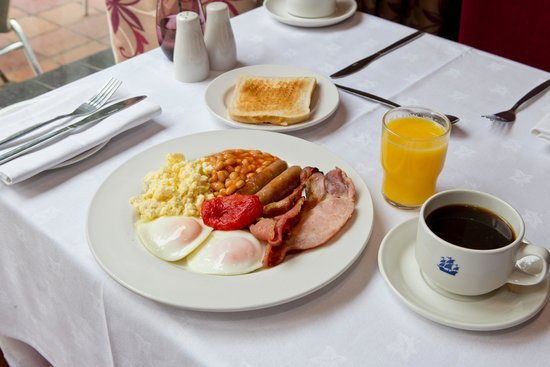 Bedford Hotel: English Breakfast
