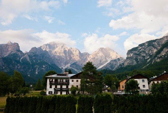 San Vito di Cadore, Italia: Blick vom Balkon