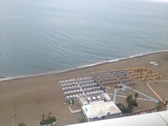 Apartamentos Torre de la Roca: vue du salon