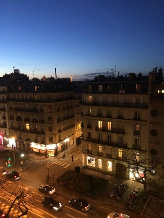 Grand Hotel des Gobelins : View from the window