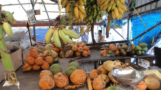 Male Local Market : фрукты и овощи