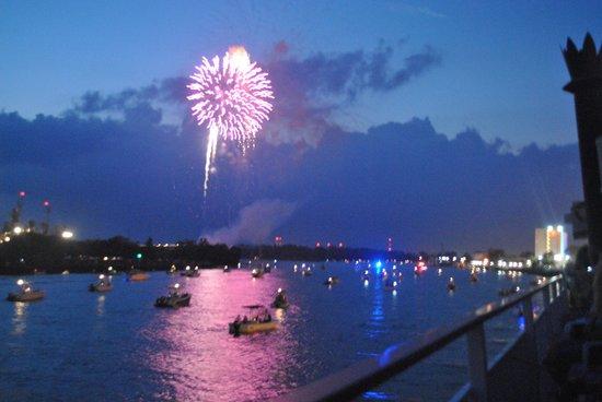Henrietta III: Fireworks on the 4th from the Henrietta111
