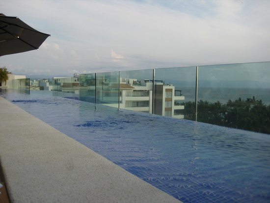 Marival Residences Luxury Resort Nuevo Vallarta: View from Insu Sky Lounge and Restaurant
