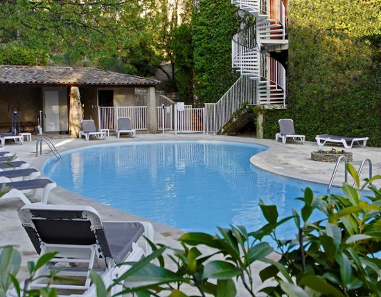 Hôtel Villa Borghese : piscine