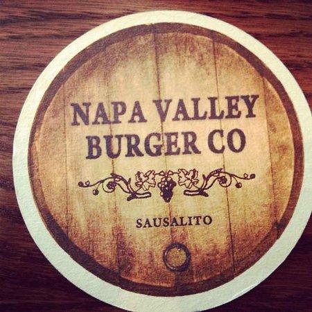 Napa Valley Burger Company: porta copos