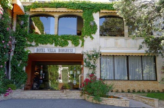 Hôtel Villa Borghese : entrée