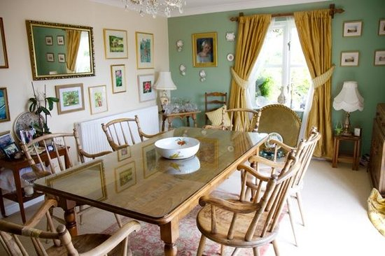 Tean House Bed and Breakfast: Dining Room