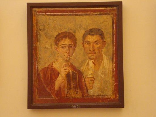 Musée archéologique national de Naples : famous fresco