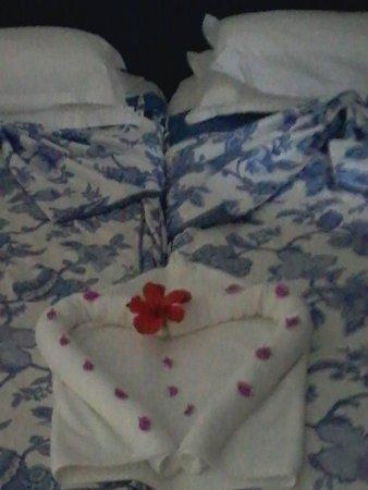 Joya Paradise: deco sur notre  lit