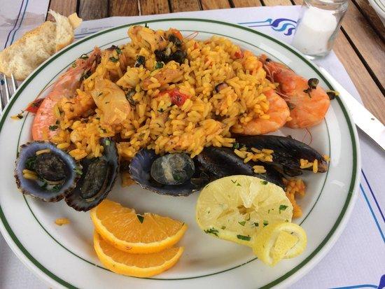 Restaurante El Caleton : Paella marisco