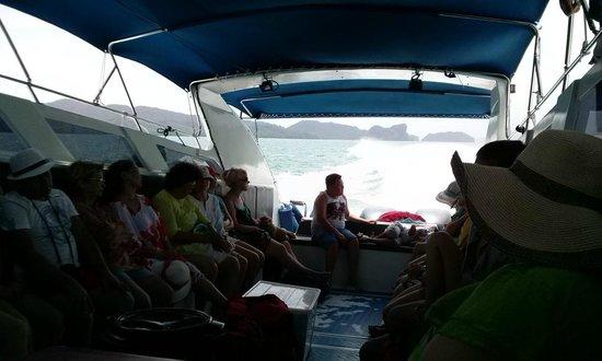 """Phang Nga Eco Tour: 19.06.2014г. 2 дневная экскурсия по Андаманскому морю. """"Синяя группа"""""""