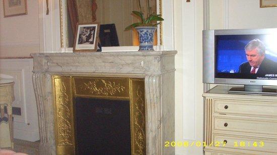 The Ritz London : Suite com lareira