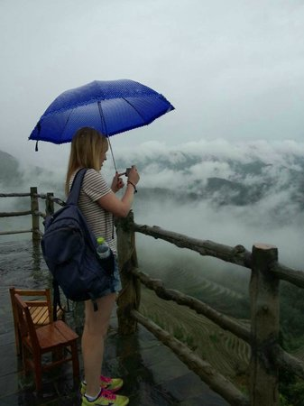 Yangshuo Private Tour-Day Tour: Ruth at the rice terraces area