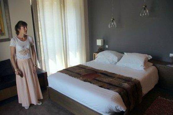 Le Mas de l'Amarine : Zimmer im Hotel