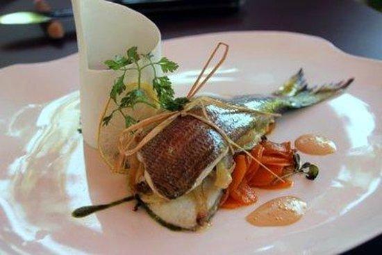 Mas de l'Amarine : Fisch zum Hauptgang
