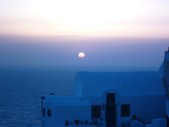 Sunset in Oia: Oia at Sundown