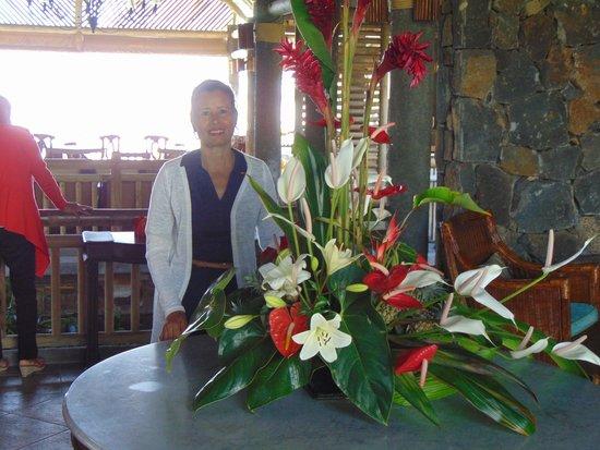 Veranda Paul & Virginie Hotel & Spa : accueil pour marie thérése