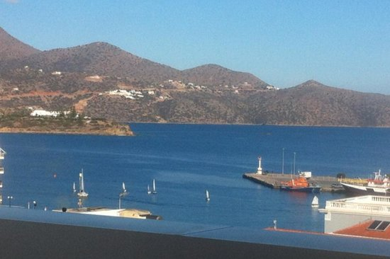 Hotel Ikaros: Θέα από το ξενοδοχείο