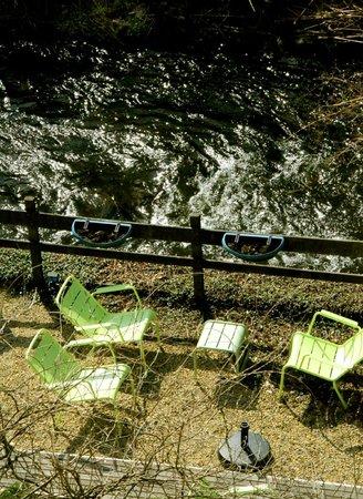 Le Val de Poix Hotel : terrasse