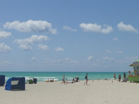 Miami Beach Boardwalk: Praia de Miami Beach