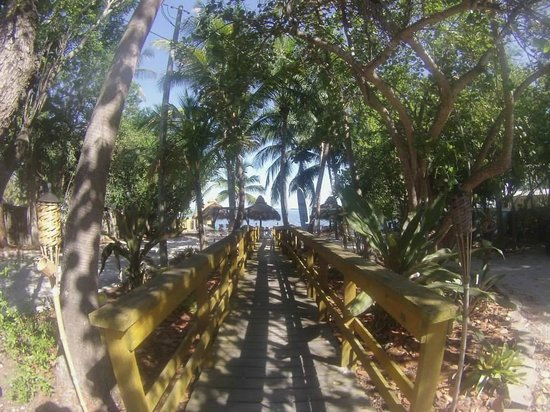 Seafarer Resort and Beach: The walk to the beach