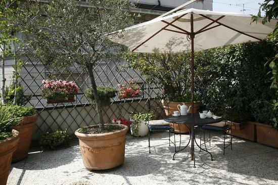 Antica Locanda dei Mercanti: Terrace Room