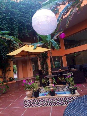 smartline Hammamet Regency: the courtyard