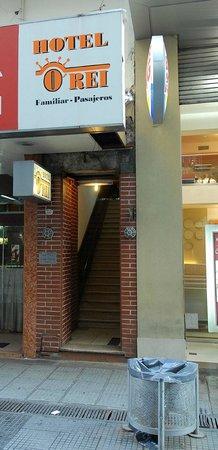 Hotel O'rei: Frente del Hotel O Rei.