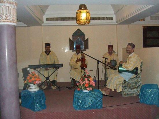 Hotel Agadir Beach Club: Restaurant MARRAKECH musique classique