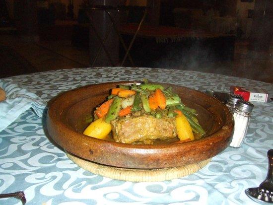 Hotel Agadir Beach Club: tajine au restaurant MARRAKECH
