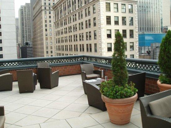 Novotel New York Times Square : Bar terrace